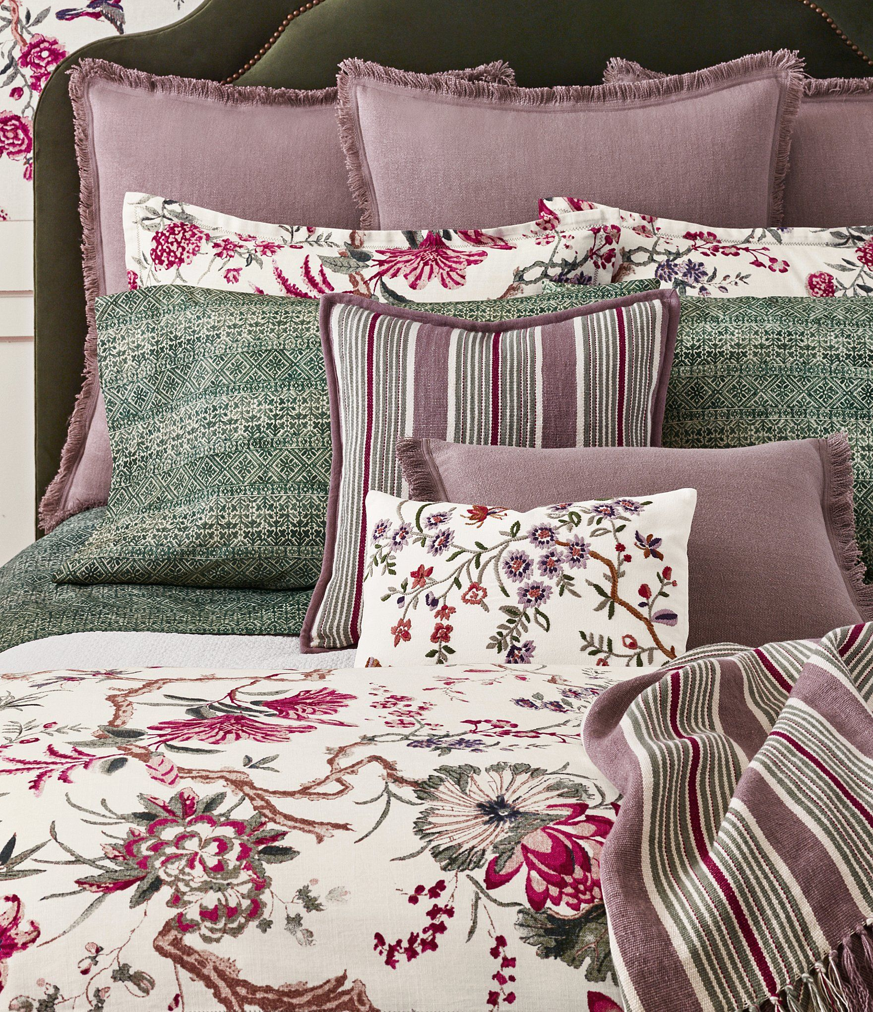 delectably sizes modern floral in set accessoires tara comforter wxl collection decor bedding amp yours accessories