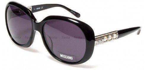 55a5882c45e4 Moschino Sunglasses Womens MO 56901 Steel Swarovski White Pearls MOSCHINO.   200.47. Save 33% Off!