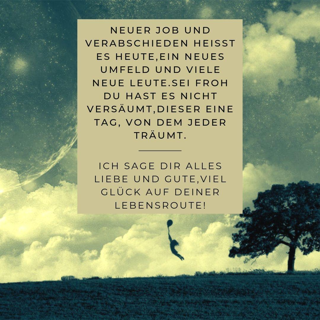 Neue Arbeitsstelle, neues #Glück und alles #Liebe auf der