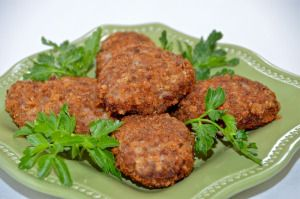Beef and Chicken Kotleti - Котлеты - Delights Of Culinaria