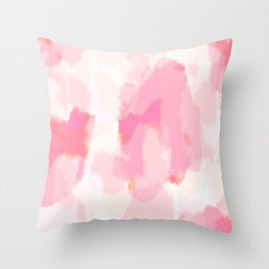 Adonia - blush pink abstract art, pink home decor, soft pink, pink art...