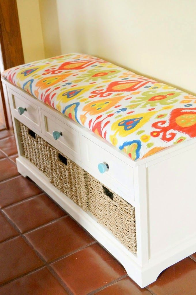 This Diy No Sew Bench Cushion Is So Easy And Very Inexpensive