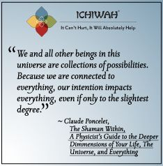 We and all other beings in this universe are collections of possibilities. Because we are connected to everything, our intention impacts everything, even if only to the slightest degree. – Claude Poncelet, The Shaman Within, A Physicist's Guide to the Deeper Dimensions of Your Life, the Universe, and Everything