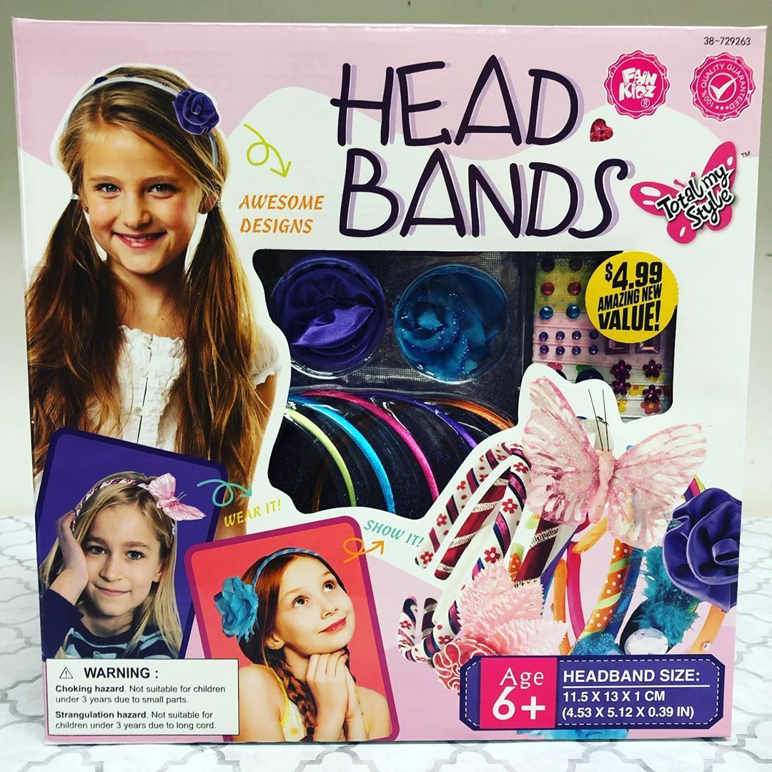 75% off Total my Style Head Band kits! That means this is only $1.25 starting today, 7/11!  #dothe...