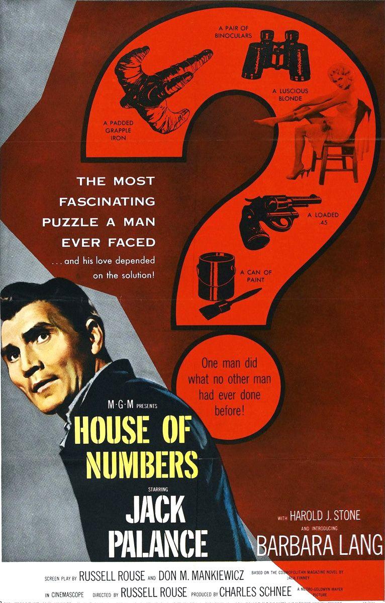 Jack Palance Filmes Classy house of numbers (1957) - jack palance, harold j. stone, barbara