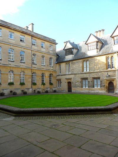Durham Quadrangle Trinity College Oxford University Unique U K