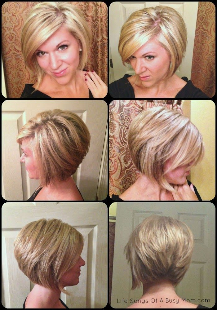 Life Songs Of A Busy Mom Fall 2014 Hair Inverted Or Stacked Bob