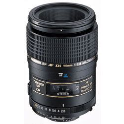 Tamron SP AF90mm F/2.8 Di 1:1 Macro.  I would love to have this reasonable price lens for macro photography.