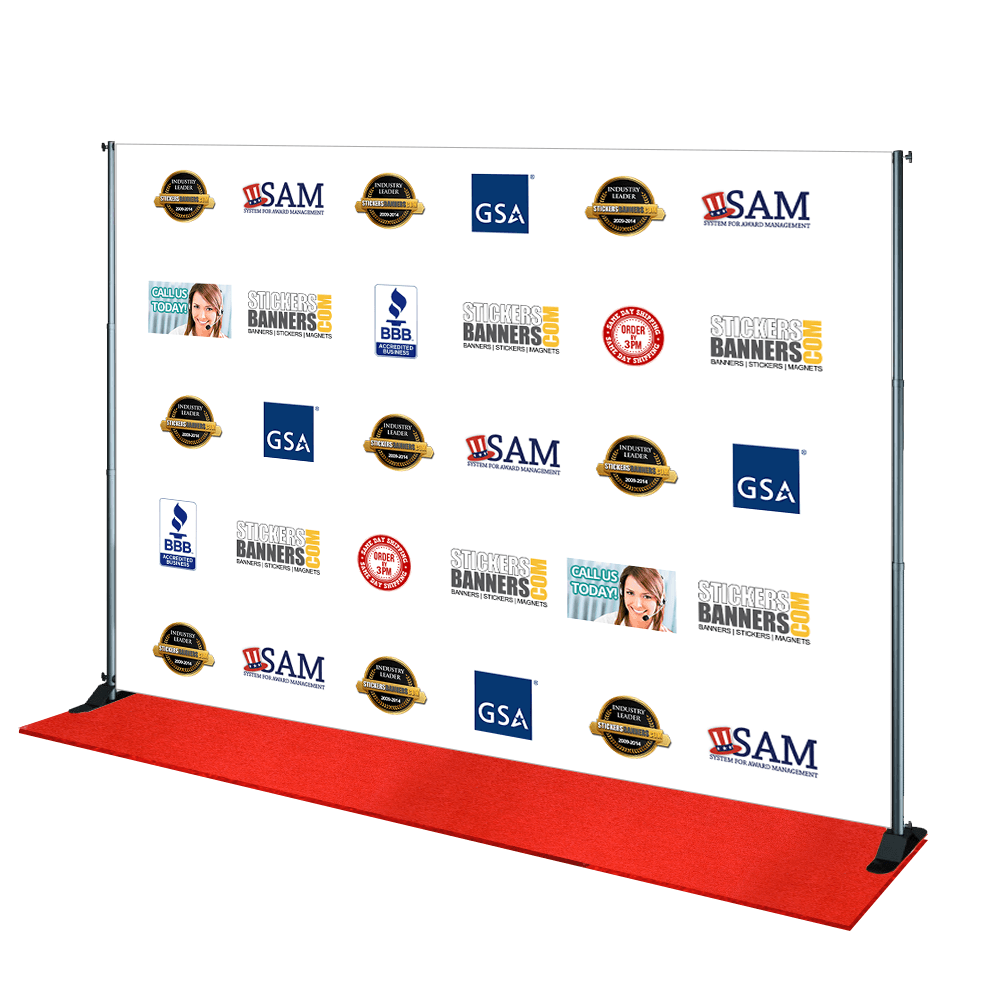 10 X 8 Step And Repeat 10 X 8 Step And Repeat Banner Same Day Shipping Custom Vinyl Banners Banner Vinyl Banners
