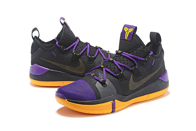 finest selection 62422 209df Nike Kobe AD Black Lakers Purple-Yellow for sale at retailed price  98