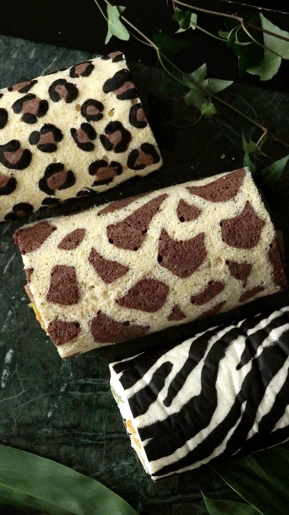 Wild Roll Cakes Opskrift Med Billeder Fodselsdagskage Ideer Kage Fodselsdagskage