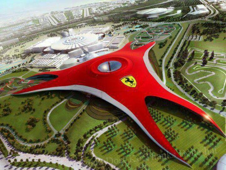 Ferrari headquarters in Abu Dhabi