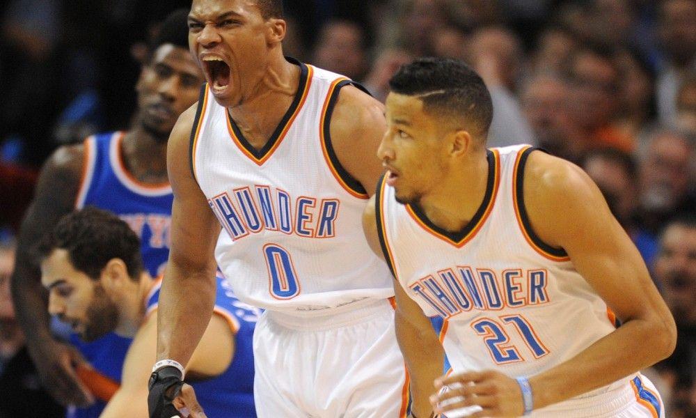Oklahoma City Thunder vs New York Knicks 01/26/16