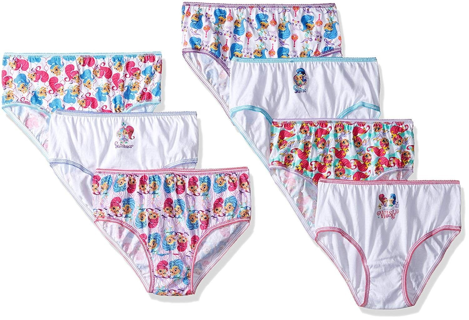 59a6c39964 Girls' Little 7pk - Assorted - 8 - CU12KRGZHBF - Girls' Clothing,  Underwear, Panties #Panties #Girls' #Clothing # #Underwear # #Panties