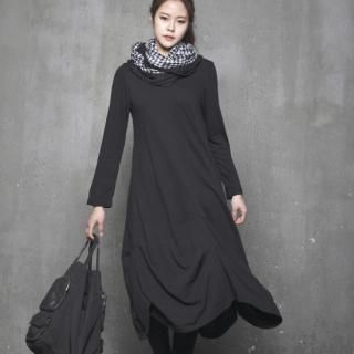 Shirred-Hem Loose-Fit Dress  from #YesStyle <3 HALUMAYBE YesStyle.com