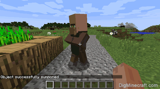 Summon A Villager In Minecraft Game Commands And Cheats Cheats - Minecraft spiele cheats
