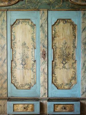 Wonderful Doors · Love This Vintage Closet ...