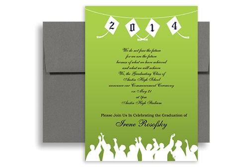 High School Graduation Announcement Templates  Graduation