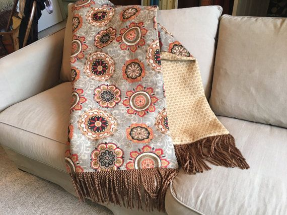 What Is A Throw Blanket Moroccan Tribal Throw Blanket Orange Bespoke Throws Sophisticated