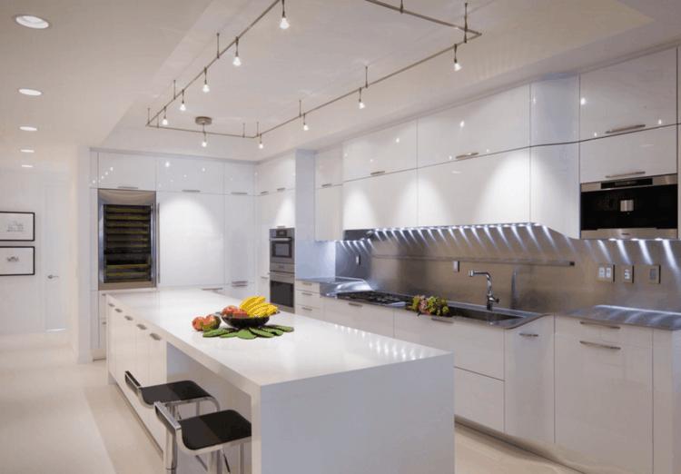 Lamparas de cocina modernas para una iluminación práctica | Luz led ...