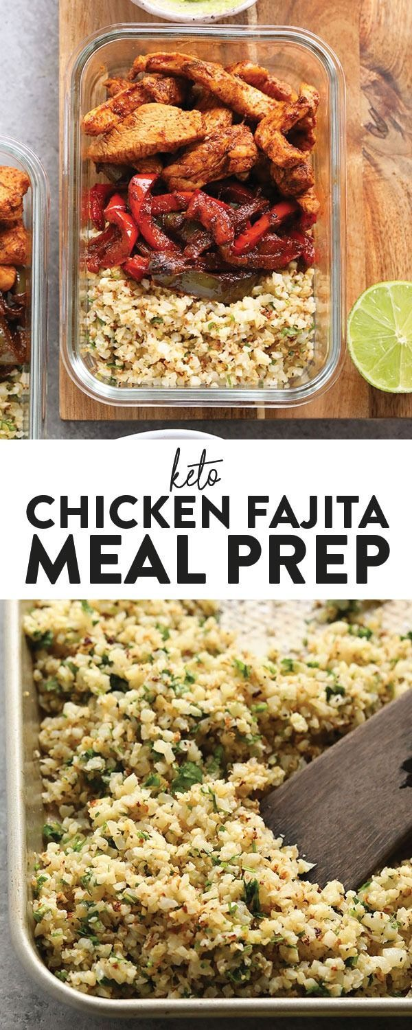 Keto Chicken Fajita Meal Prep Recipe  Fit Foodie Finds  In search of delicious keto chicken recipes This Keto Chicken Meal Prep Recipe is delicious as it
