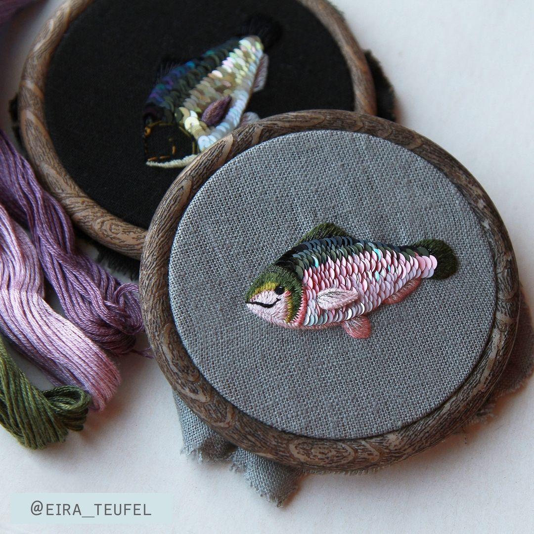 93a412bde bordado pez