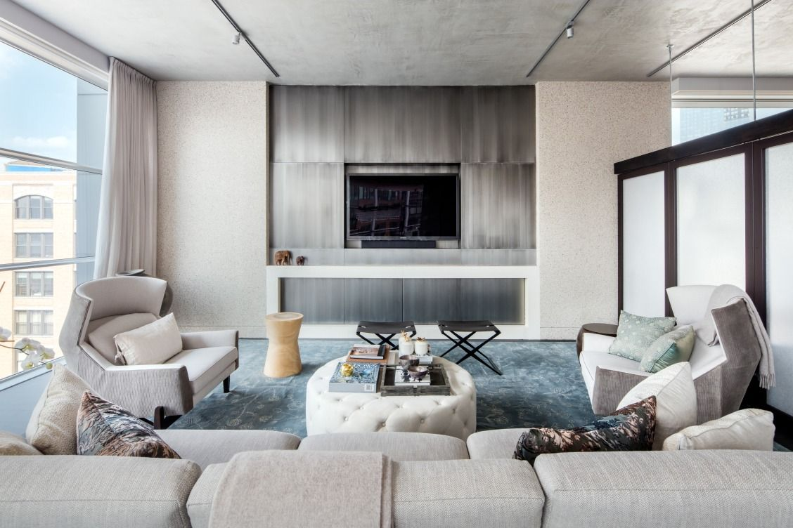 Kanye West And Kim Kardashian Stayed In This 22 5 Million Apartment Nyc Penthouse Kardashian Home Home