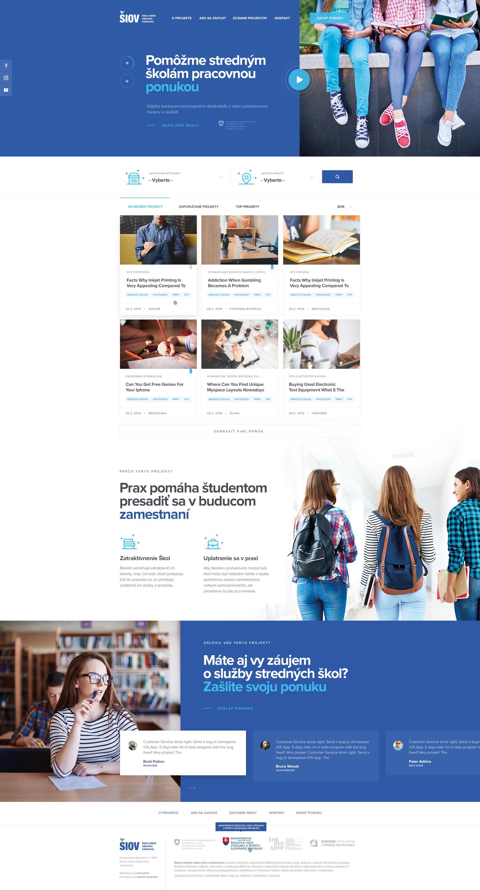Siov Homepage Web Layout Design Web Development Design Website Design Layout