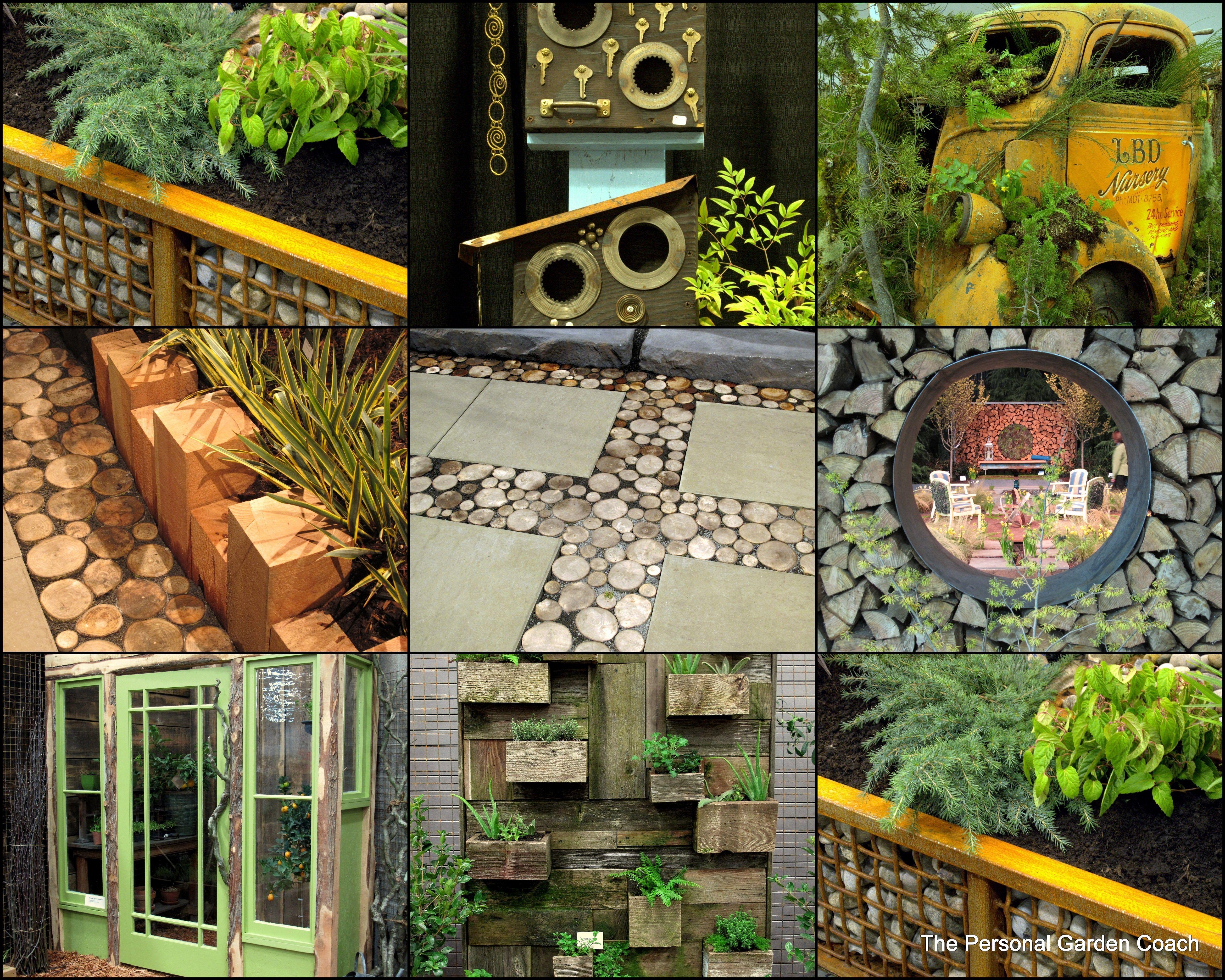 Creative Ideas From The 2013 Portland Yard Garden U0026 Patio Show