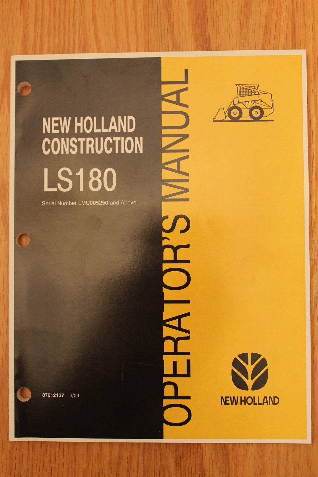 new holland tractor service manual 10la loader schoolbook cf rh pinterest com New Holland Skid Steer Door New Holland Wheel Weights