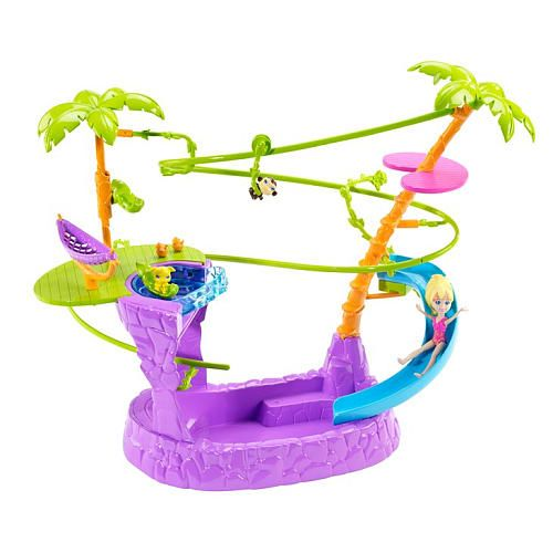 "Polly Pocket Zip 'N Splash Playset - Mattel - Toys ""R"" Us $17.98"