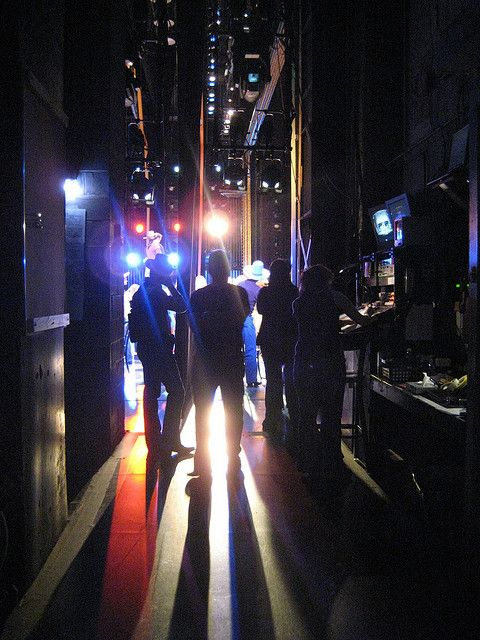 Backstage Lights Waiting In The Wings Cool Photos