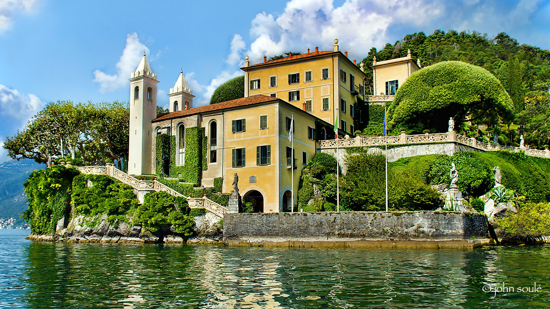 Villa balbianello has been the location for numerous for Villa royale