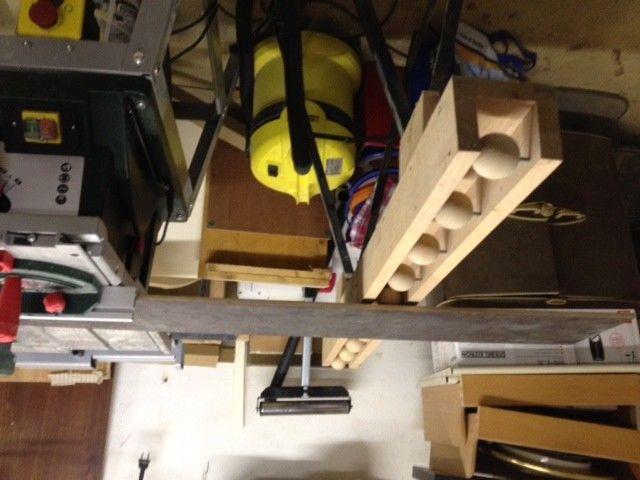 rollbock als verl ngerung tischkreiss ge bauanleitung zum. Black Bedroom Furniture Sets. Home Design Ideas