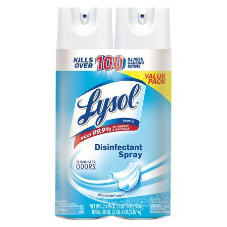 Household Essentials Disinfectant Spray Linen Spray Air Freshener