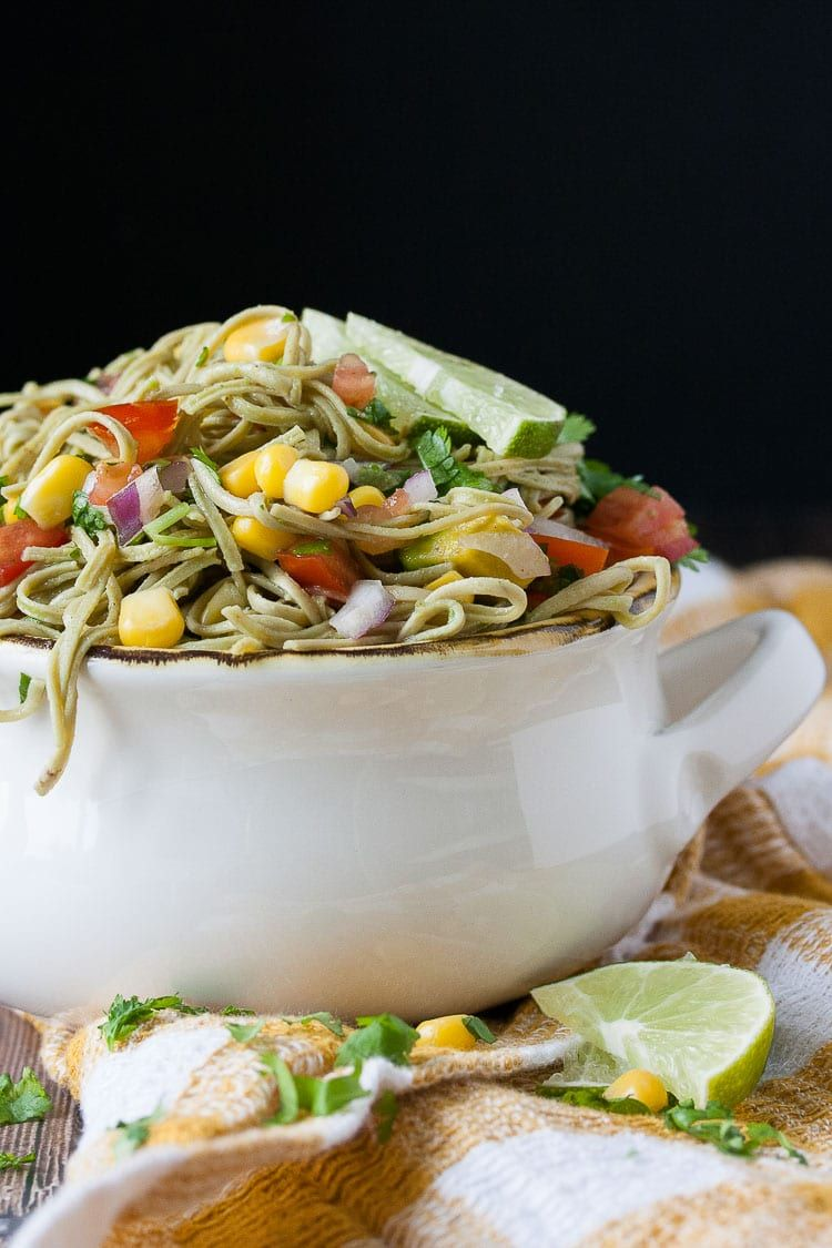 Fast High Protein Mexican Fiesta Pasta Salad Recipe Healthy