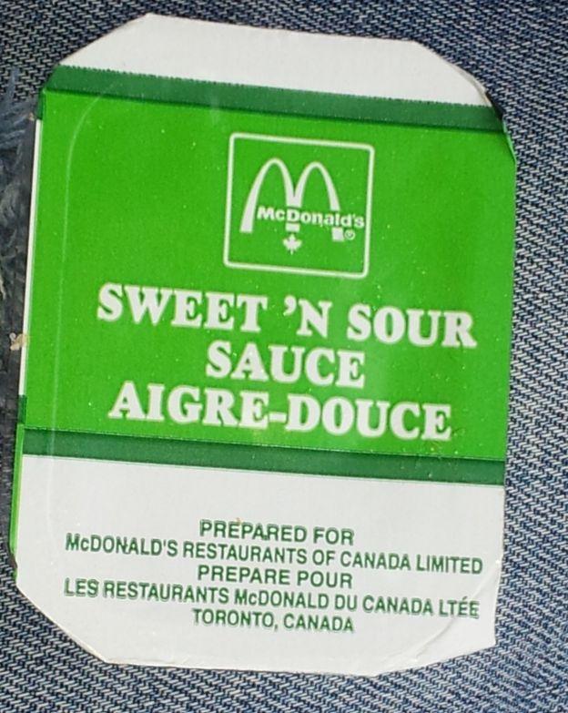 Recette De Mcdonald S Sauce Aigre Douce Toute Simple Et Rapide A Faire Recipe Mcdonald S Restaurant Recipe Sweet And Sour Sauce Mcdonalds Recipes