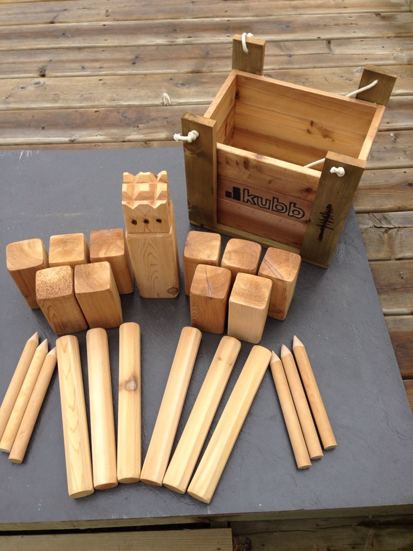Kubb Game Kubb Game Wood Games Wooden Games
