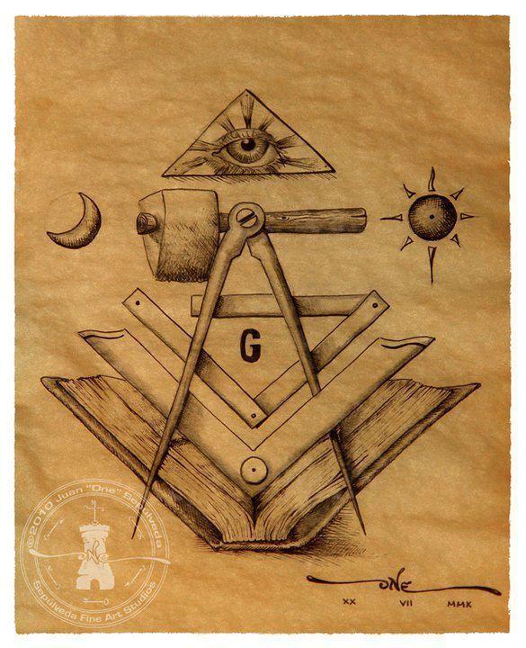 Elementos Masónicos Simbologia Masonica Símbolos Masónicos Escuadra Y Compas