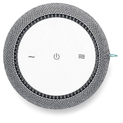 SNOOZ White Noise Sound Machine Real Fan Inside for Non