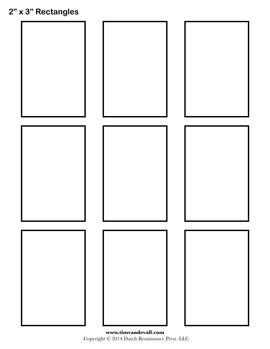 Rectangle Templates Blank Shape Templates Free Printable Pdf Shape Templates Templates Printable Free Printable Shapes