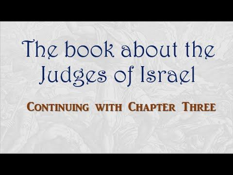 Judges Chapter 3, Calvary Chapel Fellowship Wichita Kansas http://ccfwichita.com