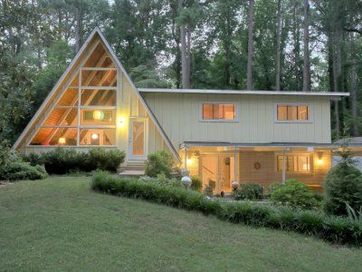 Mid Century Modern A Frame Home Atlanta Nothing Like Seeing A