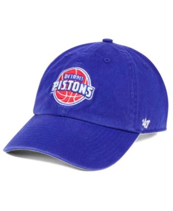 cheap for discount 1ec60 ba239  47 Brand Detroit Pistons Clean Up Cap - Blue Adjustable.