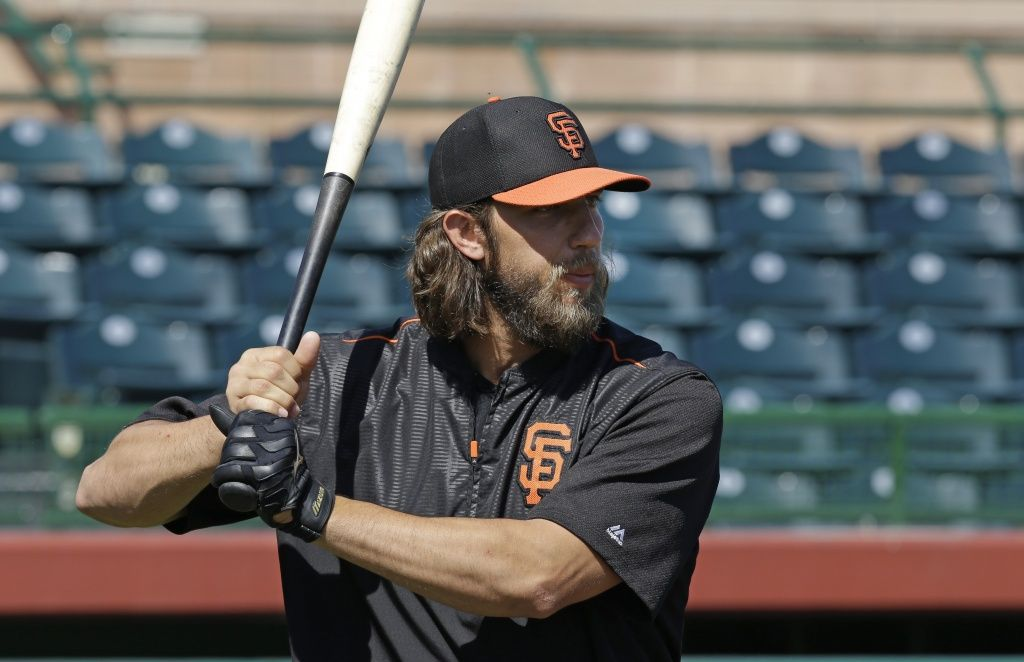 check out 450b9 726f6 Madison Bumgarner is the manliest man in his new commercial ...