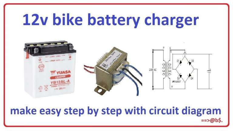 16 12 Volt Motorcycle Battery Charger Circuit Diagram Motorcycle Diagram Wiringg Net In 2020 Battery Charger Circuit Battery Charger Circuit Diagram