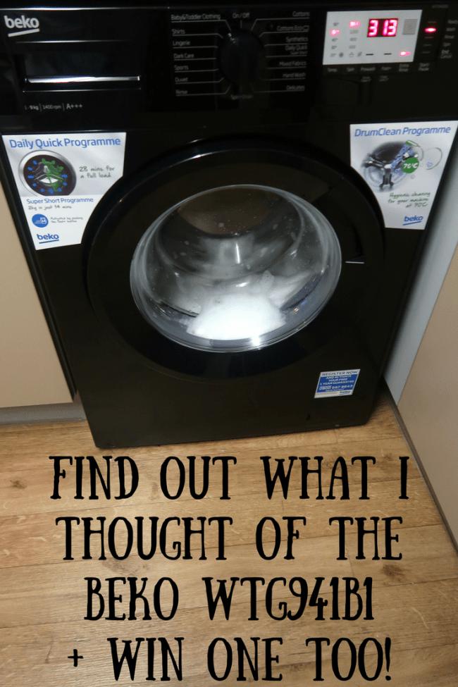 Review Beko Wtg941b1 Washing Machine Ad Gifted Washing