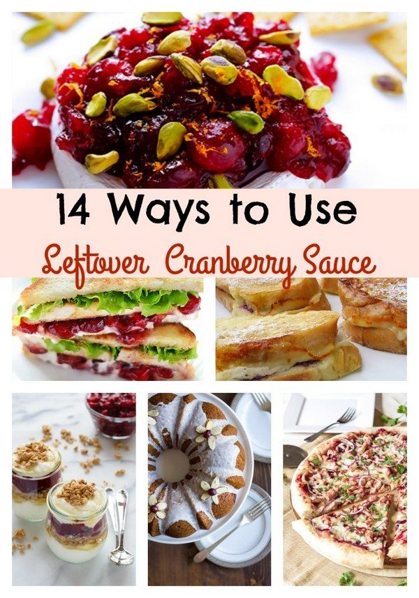 14 Ways to Use Leftover Cranberry Sauce