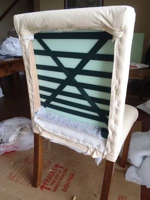 Where To Get Chairs Reupholstered Love Making Lazy Liz On Less How Build And Upholster Dinning Home