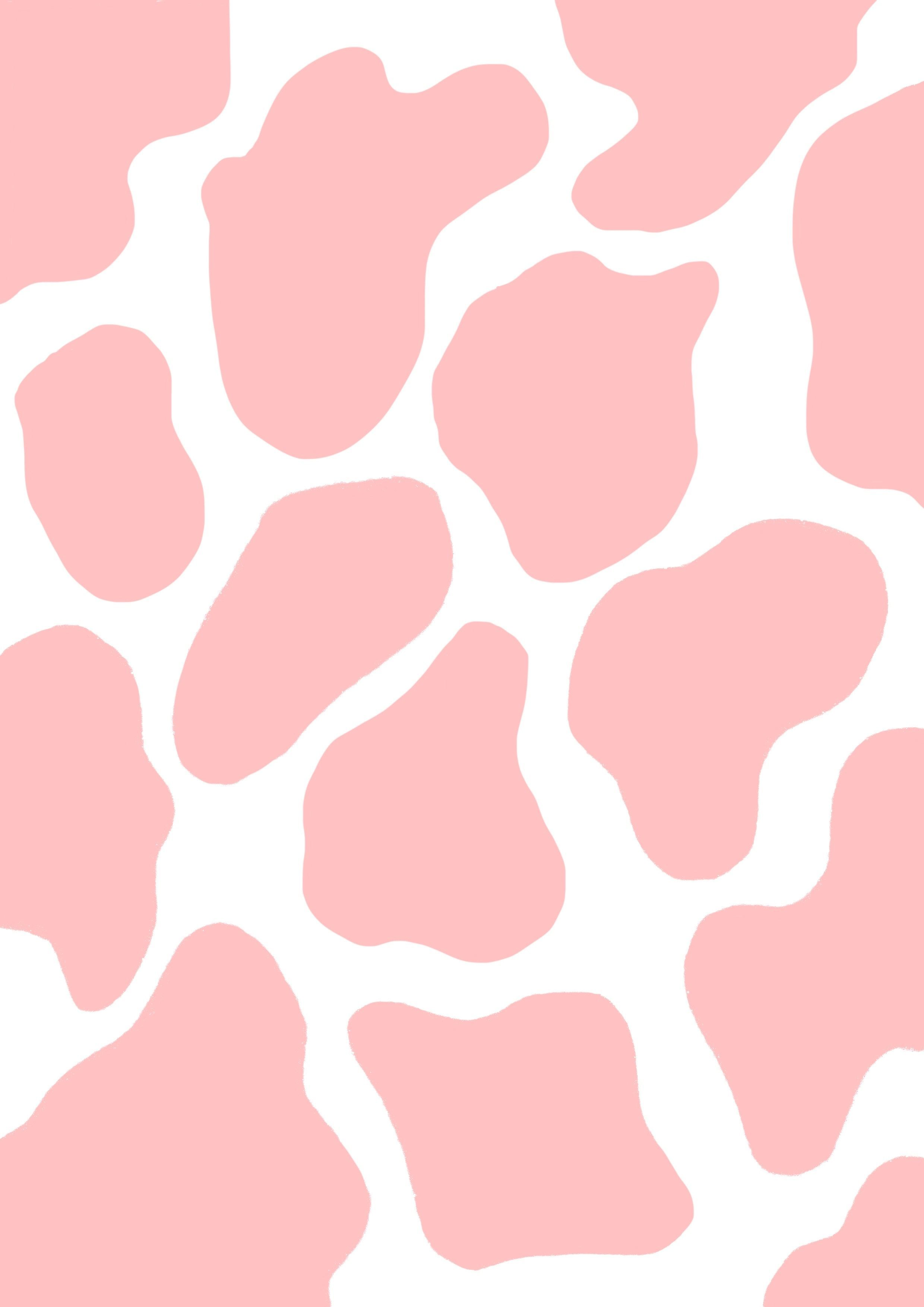 White And Pink Marble Pattern Postcard By 0